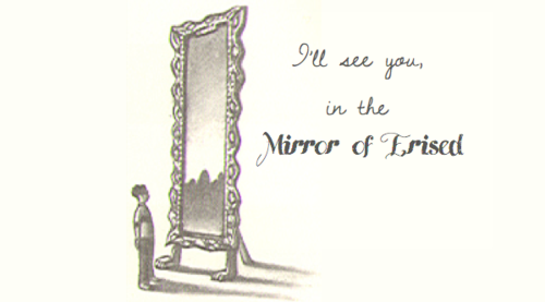 i'll see you in the mirror of erised