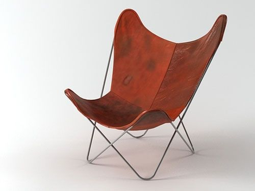 Genial Butterfly Chair, Model No. 198, Jorge Ferrari Horday, Juan Kurchand U0026  Antonio Bonet, 1938, NY