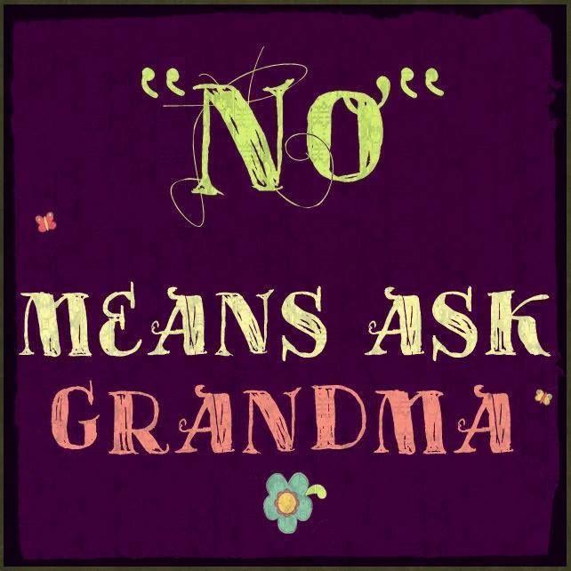 Ask Grandma Funny Grandchildren Spoiling Grandma Quotes Grandparents Quotes Quotes