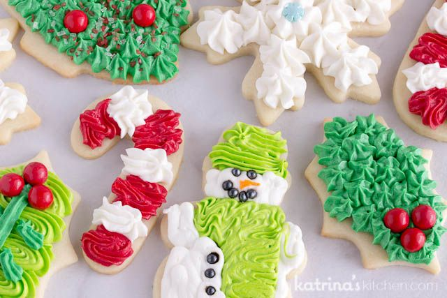 Frosting For Christmas Cookies.Christmas Cookie Frosting
