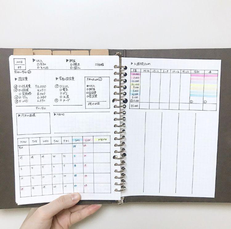 Press プレス ホーム 家計簿 書き方 家計簿 手帳 家計簿