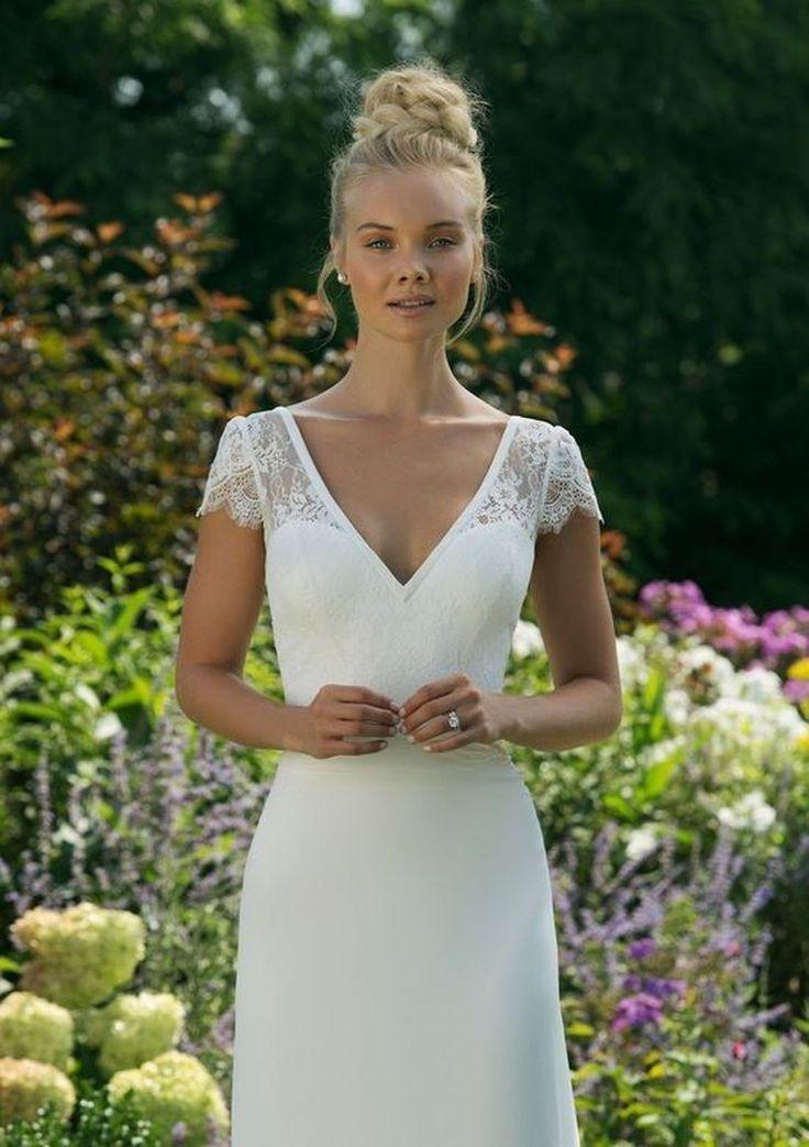 47 Vintage Lace Sweetheart Brautkleider Ideen für den Frühling #civilweddingdresses