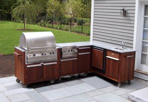 Bon Residential Islands Prefab Outdoor Kitchens Outdoor Bars Custom BBQ Grill  Residential Custom Built Carts And Islands