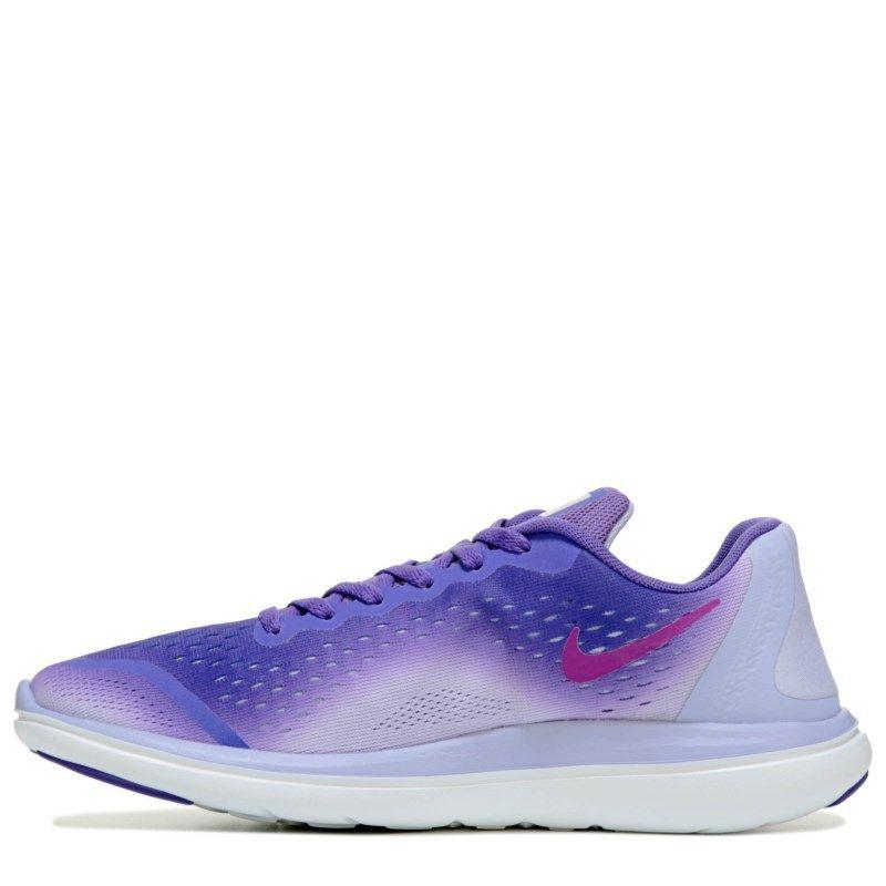 42deee9ce6bec Nike Kids' Flex Run 17 Running Shoe Grade School Shoes (Purple Fade)