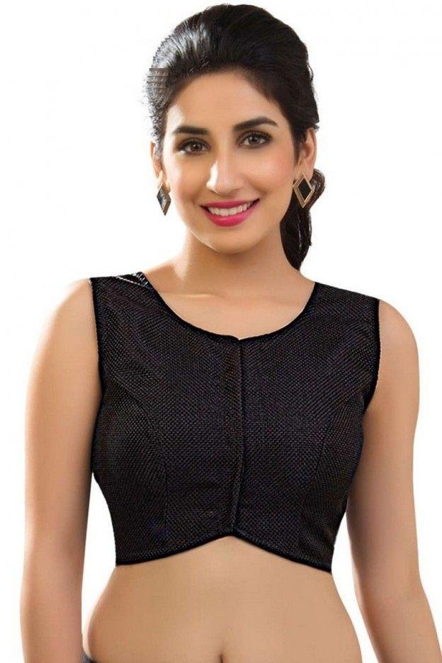 9c5d9a20c19109 Crop Top Jacket, Buy Sarees Online, Designer Blouses Online, Saree Jackets,  Black