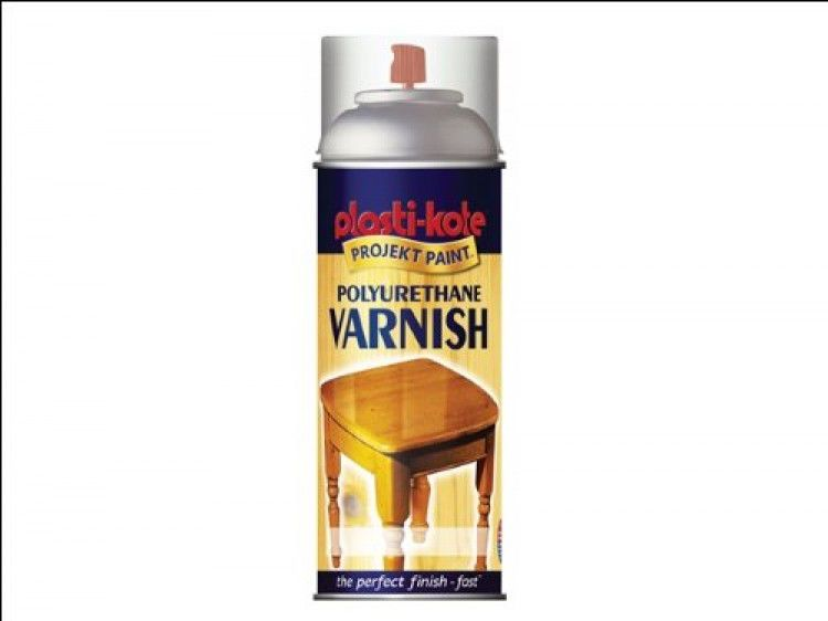 Varnish Satin Spray Paint Tough Durable Protects Against Scratches 400ml Clear Scratched Wood Wood Care Varnish
