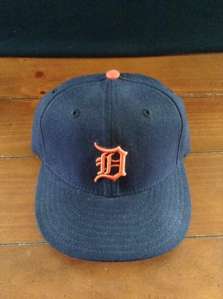 competitive price 9806d 8f3cc Vintage Detroit TIGERS Old English D New Era 59Fifty Fitted Baseball Hats  Caps  NewEra  BaseballCap
