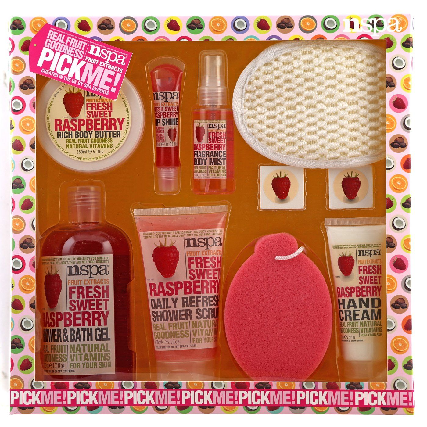 Nspa Fruit Raspberry Hamper Read Reviews And Buy Online