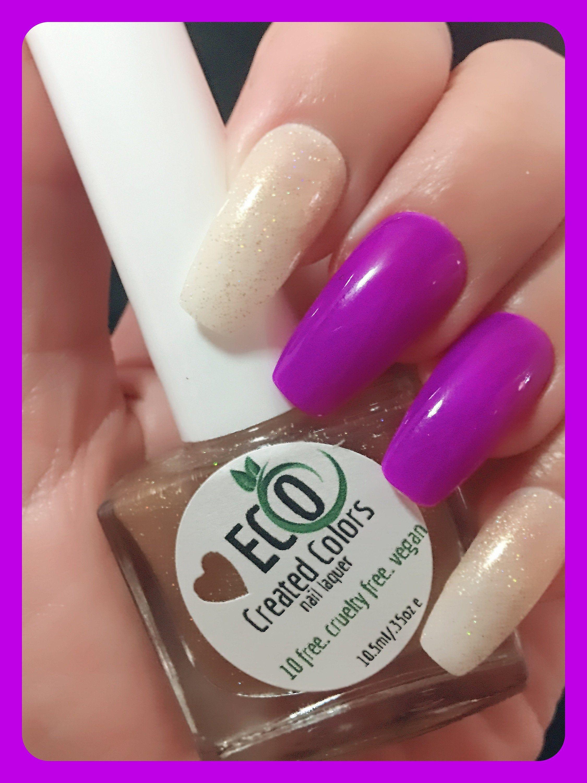 Pin By Eco Created Colors On Topper Collection Vegan Nail Polish Gold Glitter Nail Polish Free Nail Polish