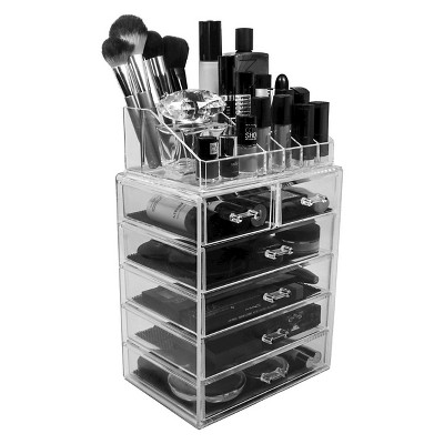 Photo of Sorbus Makeup Storage Display Set – Style 2 – Clear