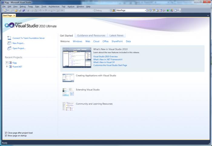 Microsoft Visual Studio 2010 Ultimate Offline Installer