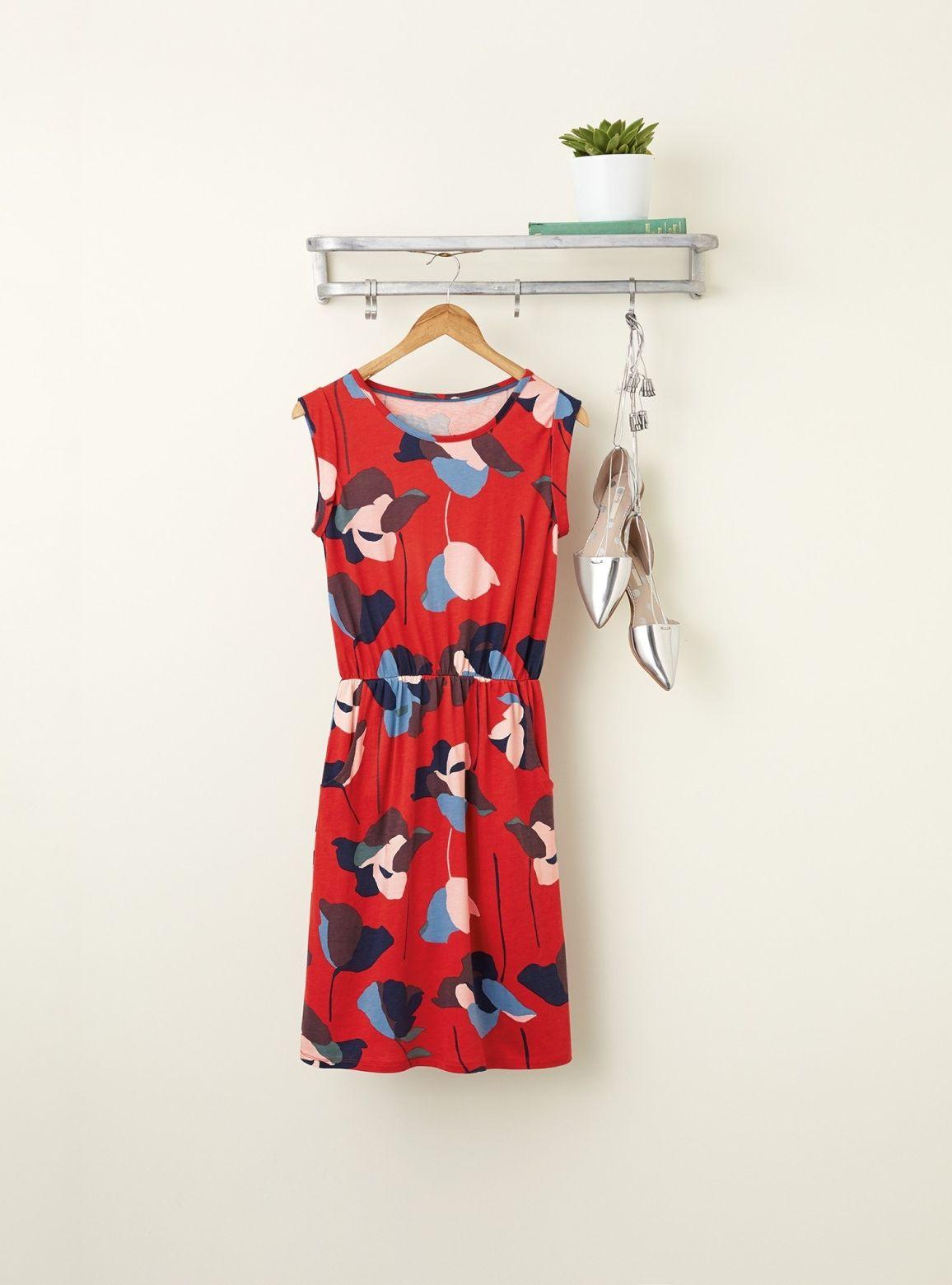 Blackberry Dress Fashion Day Dresses Fabric Print Design [ 1561 x 1156 Pixel ]