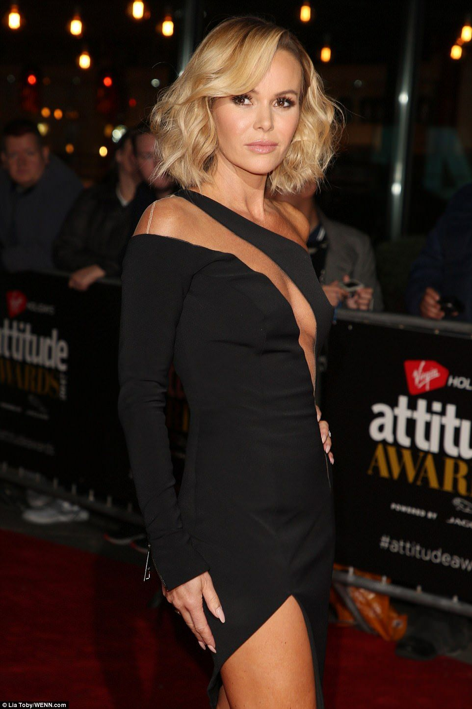 Amanda Holden Tits pin on celebrity