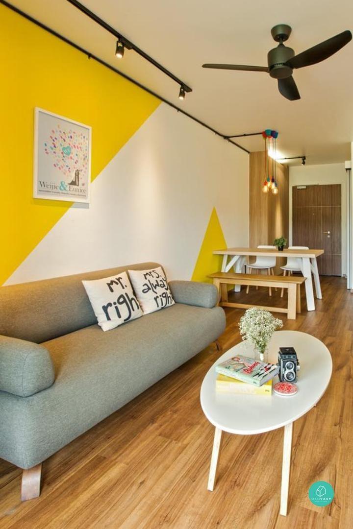 Living Room Design Hdb Flat: 10 Homes That Don't Look Like HDB