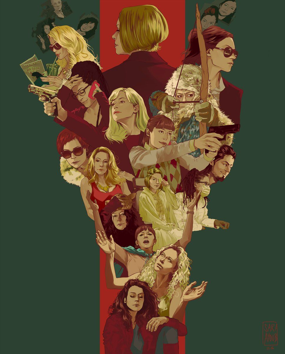 Sara On In 2020 Orphan Black Orphan Black Paul Black Wallpaper
