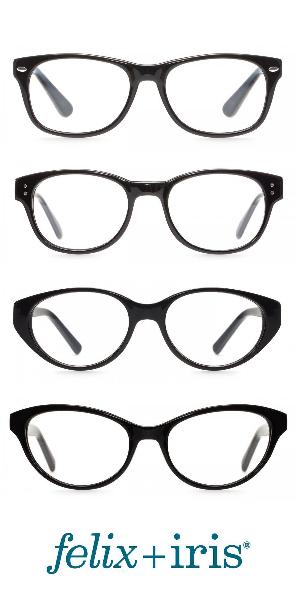 4 Fantastic Black Glasses for Heart Shaped Faces   felix + iris ...
