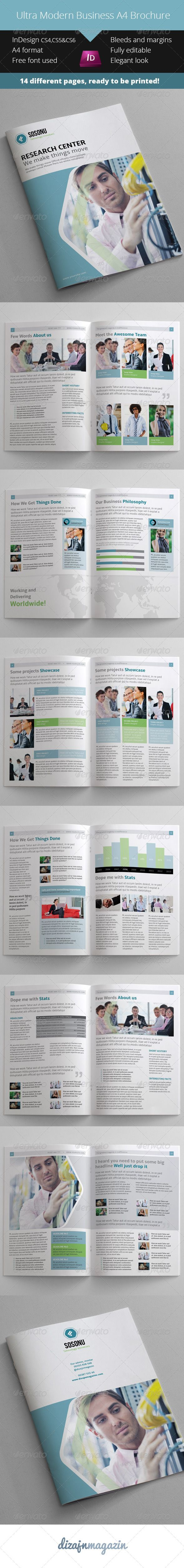 Ultra Simple Business Catalogue - Brochure | Brochures, Catalog ...