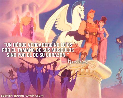 Un héroe verdadero lo es por su corazón