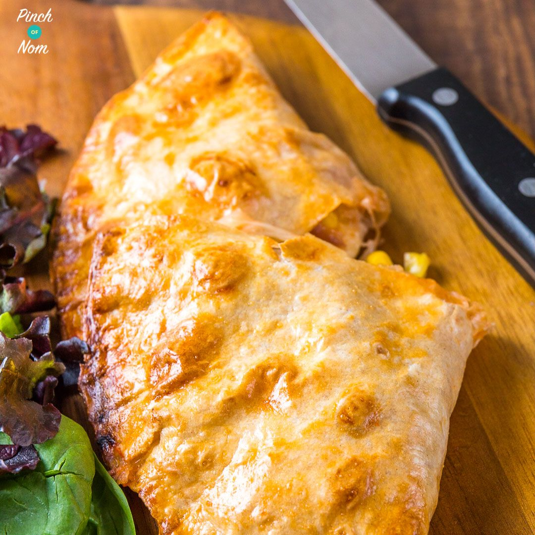 Syn Free Chicken And Sweetcorn Pizza Calzone Slimming
