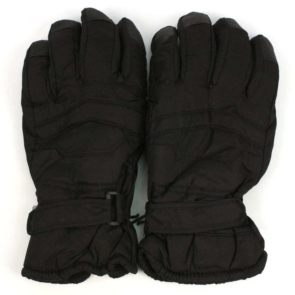 Mens Thinsulate Warm Insulated Winter Work Gloves Snow Safety Grip Cold Weather