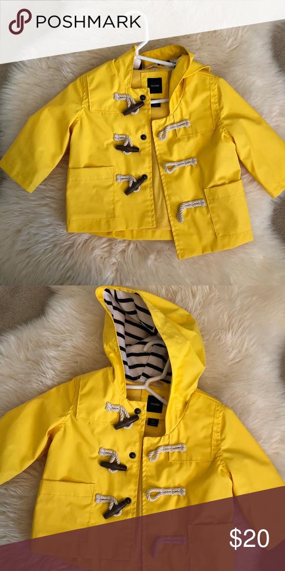 534d6ec11 Unisex baby gap raincoat