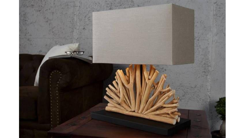lampe à poser en bois flotté julia | pantin | pinterest