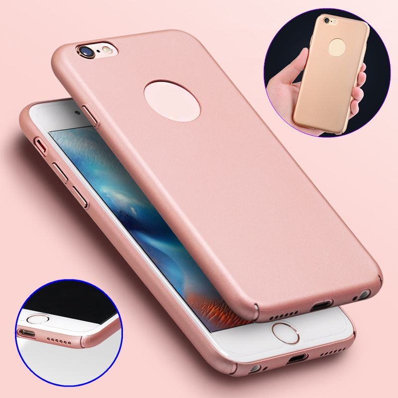 360° Protective PC Hard Back Case Cover for iPhone5/5S/SE/6/6 Plus/6S/6S Plus