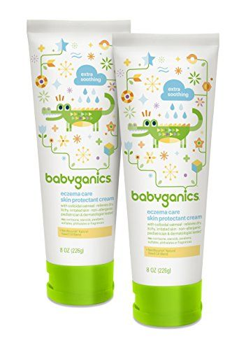 Babyganics Eczema Care Skin Protectant Cream 8 Oz Tube Pack Of 2 Https All4babies Co Business Babyganics Ecze Eczema Cream Eczema Lotion Skin Protection
