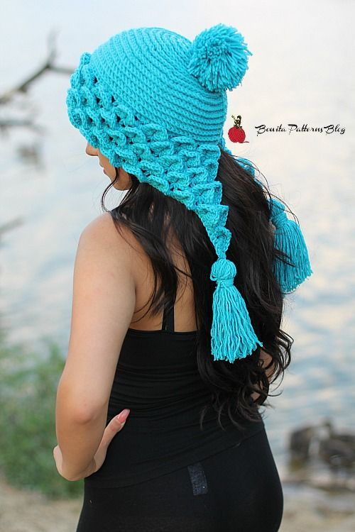 Free Crochet Pattern Crocodile Stitch Capuche Hood Visit Www