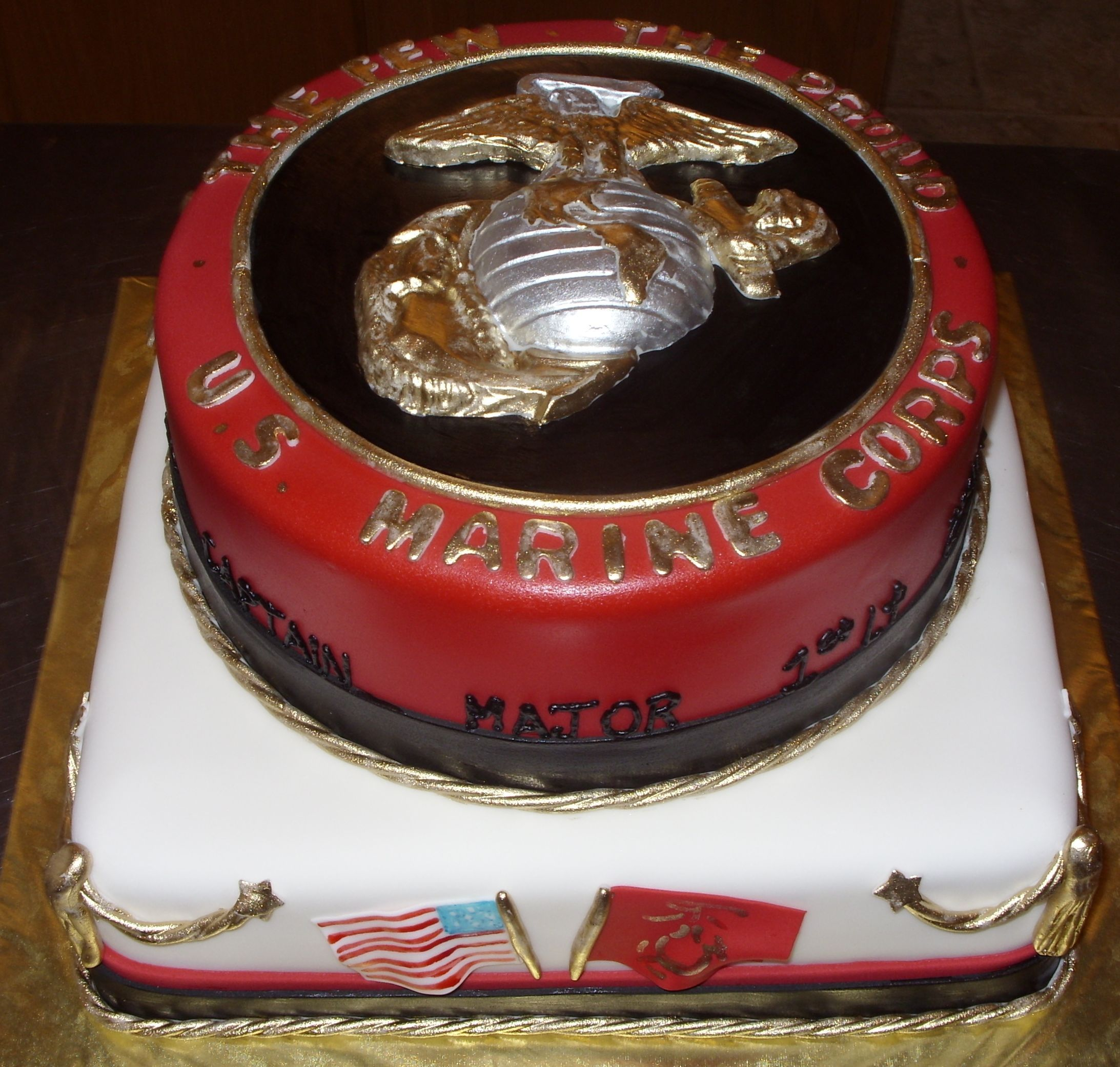 Marine_Corp_Retirement_Cake.jpg (2185×2081) Birthday