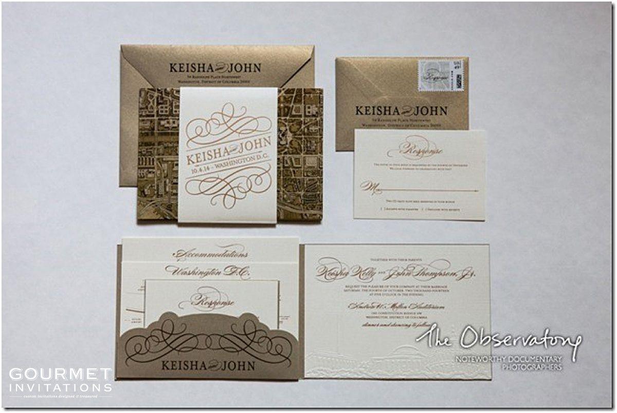 Washington DC Themed Wedding Invitations | Washington dc, Themed ...