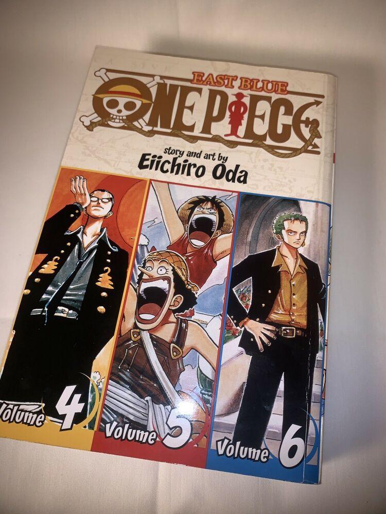 2 Omnibus Edition One Piece:  East Blue 4-5-6 Vol