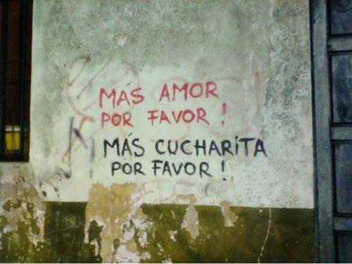 Mas amor por favor!
