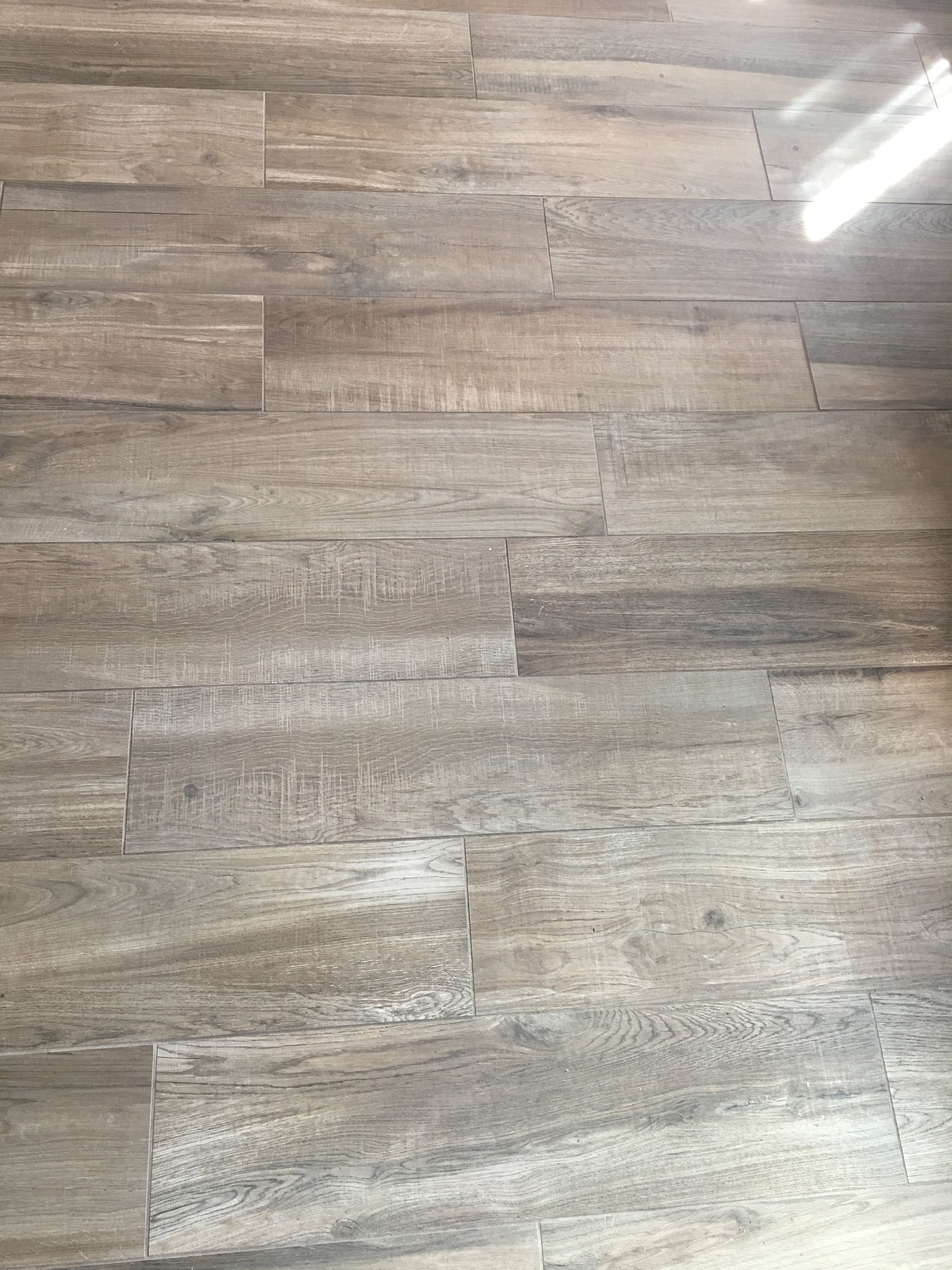 Coastal Farmhouse Wood Look Tile Flooring!   dallas white ...