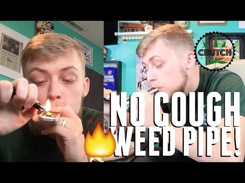 SMOKING LIVE RESIN THROUGH A NO COUGH WEED PIPE (GENIUS PIPE