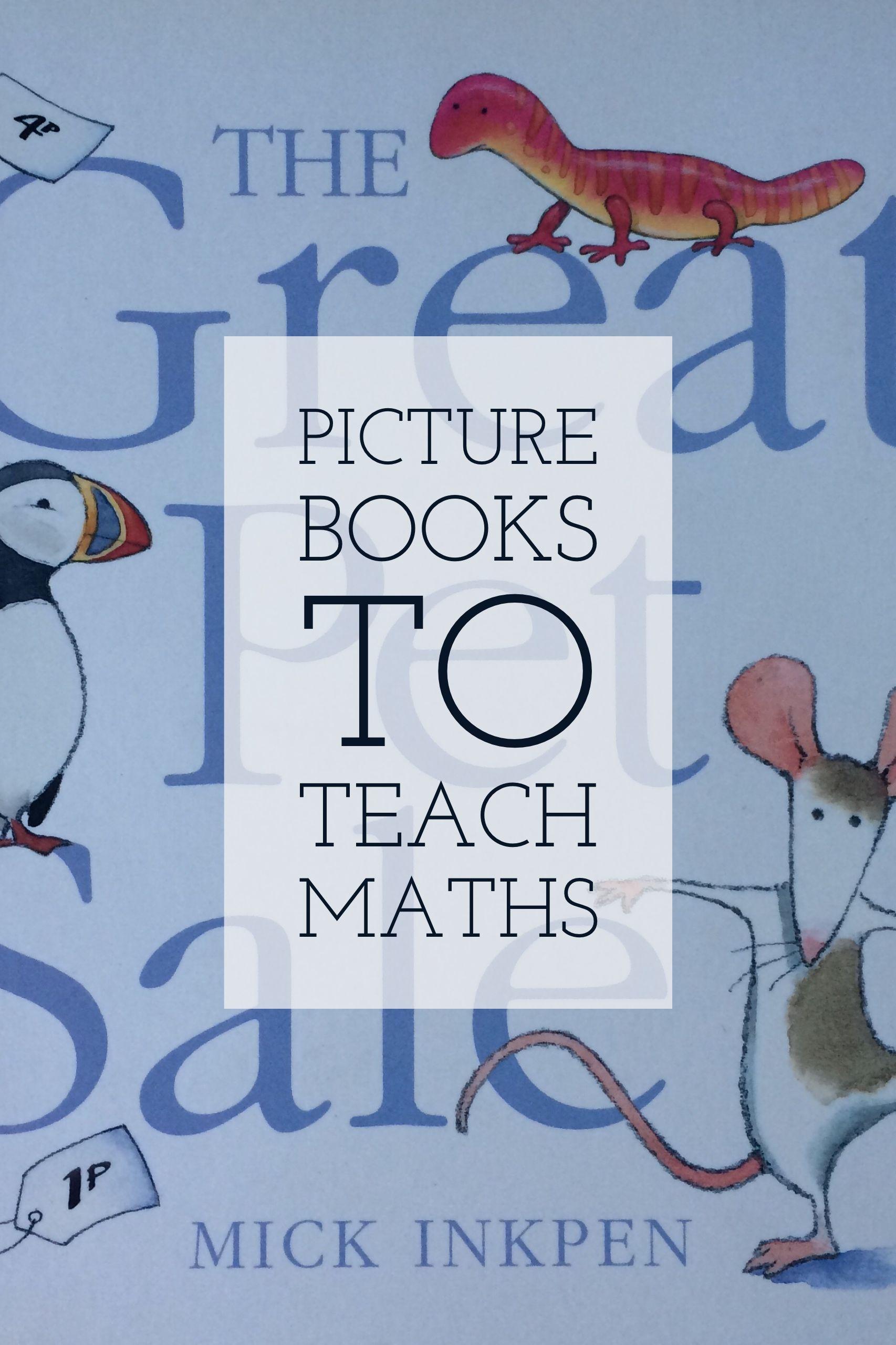 Picture Books To Teach Maths