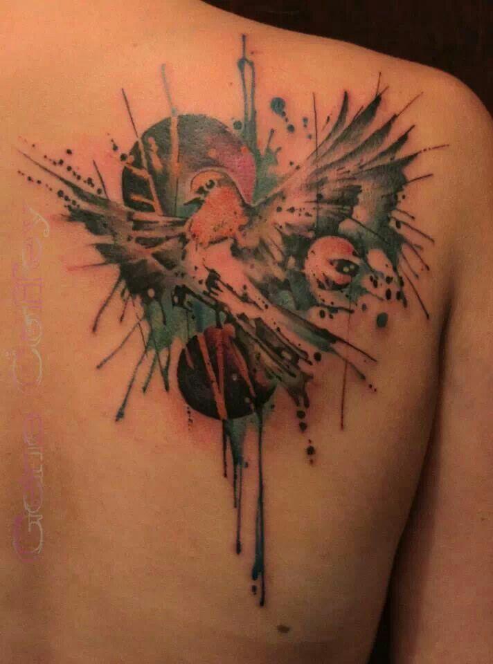 Robin By Gene Coffee Maple Leaf Tattoo Tattoos Leaf Tattoos