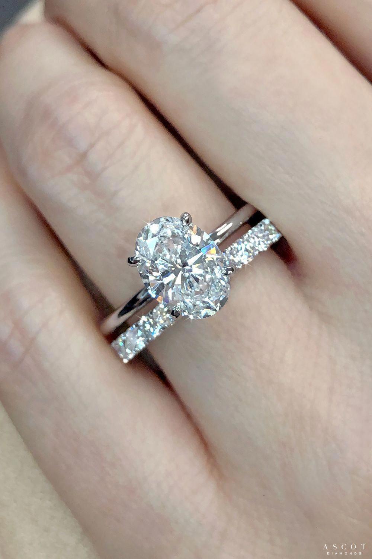 14K Rose Gold Engagement Ring Rose Gold Wedding