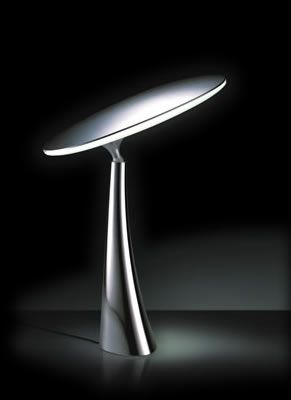 QisDesign SWRF10-D Coral Reef LED Table Lamp, an LED Table Lamp activated by touch, features a unique ball joint design to allow users to change the lighting angles by adjusting the lighting platform. Advanced LED technology makes it possible to cluster together 33 LEDs per pedal to allow for the maximum light output while keeping the fixture almost cool to the touch. Contemporary Table Lamps #ledtechnology