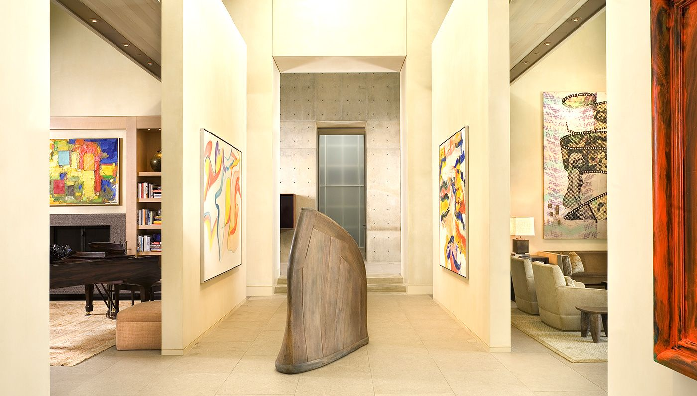 The Seattle-based architect turns art lovers\' homes into living ...