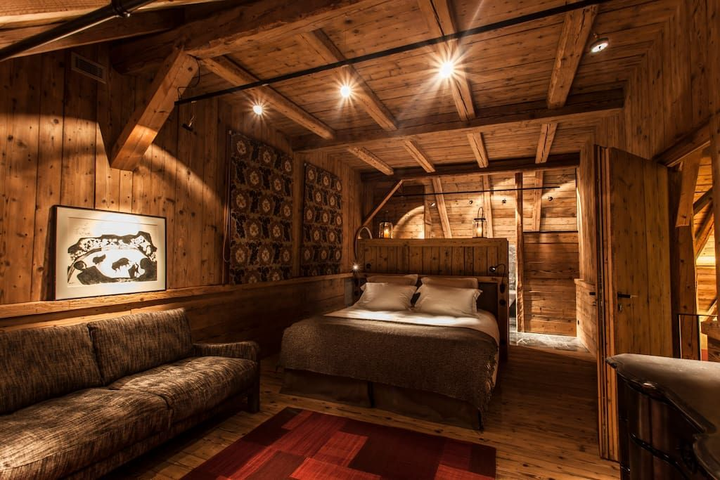chambre master en vieux bois - Get $25 credit with Airbnb if you
