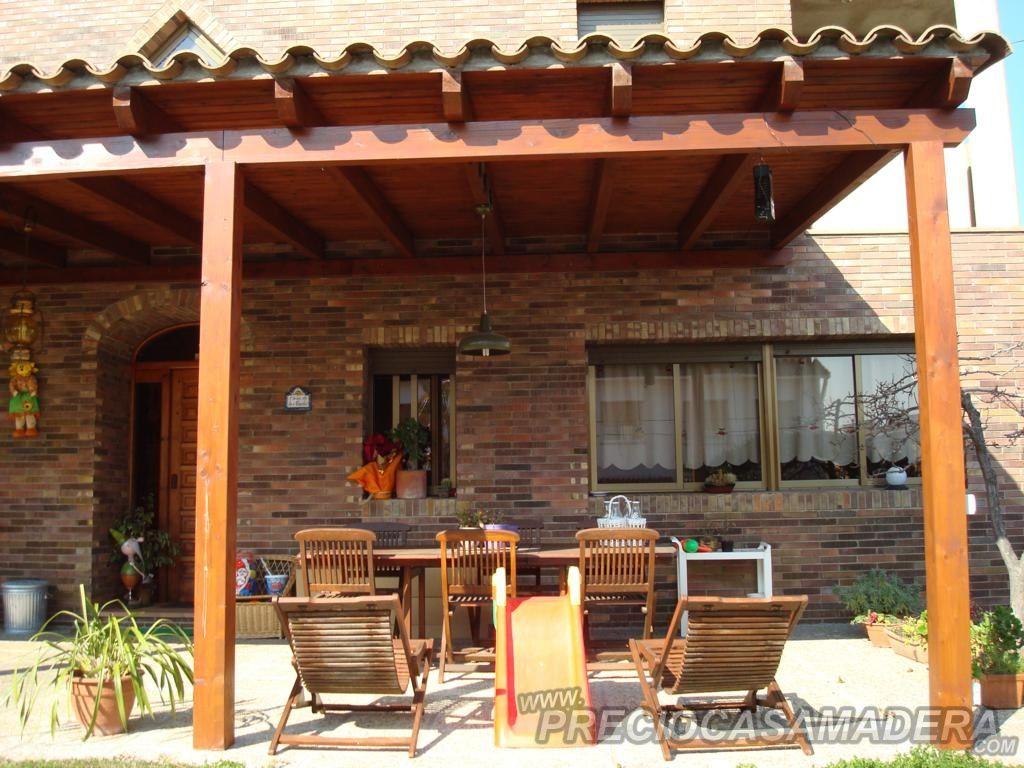 Resultado de imagen para terminacion techo cobertizos de for Cobertizos para jardin
