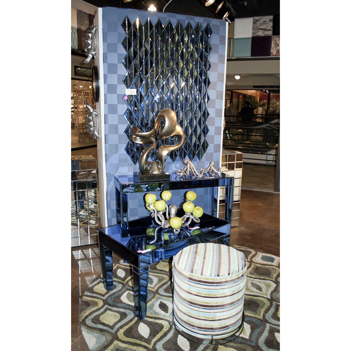 Howard elliott dorset cobalt blue mirrored w bottom shelf console howard elliott dorset cobalt blue mirrored w bottom shelf console table 11176 geotapseo Image collections