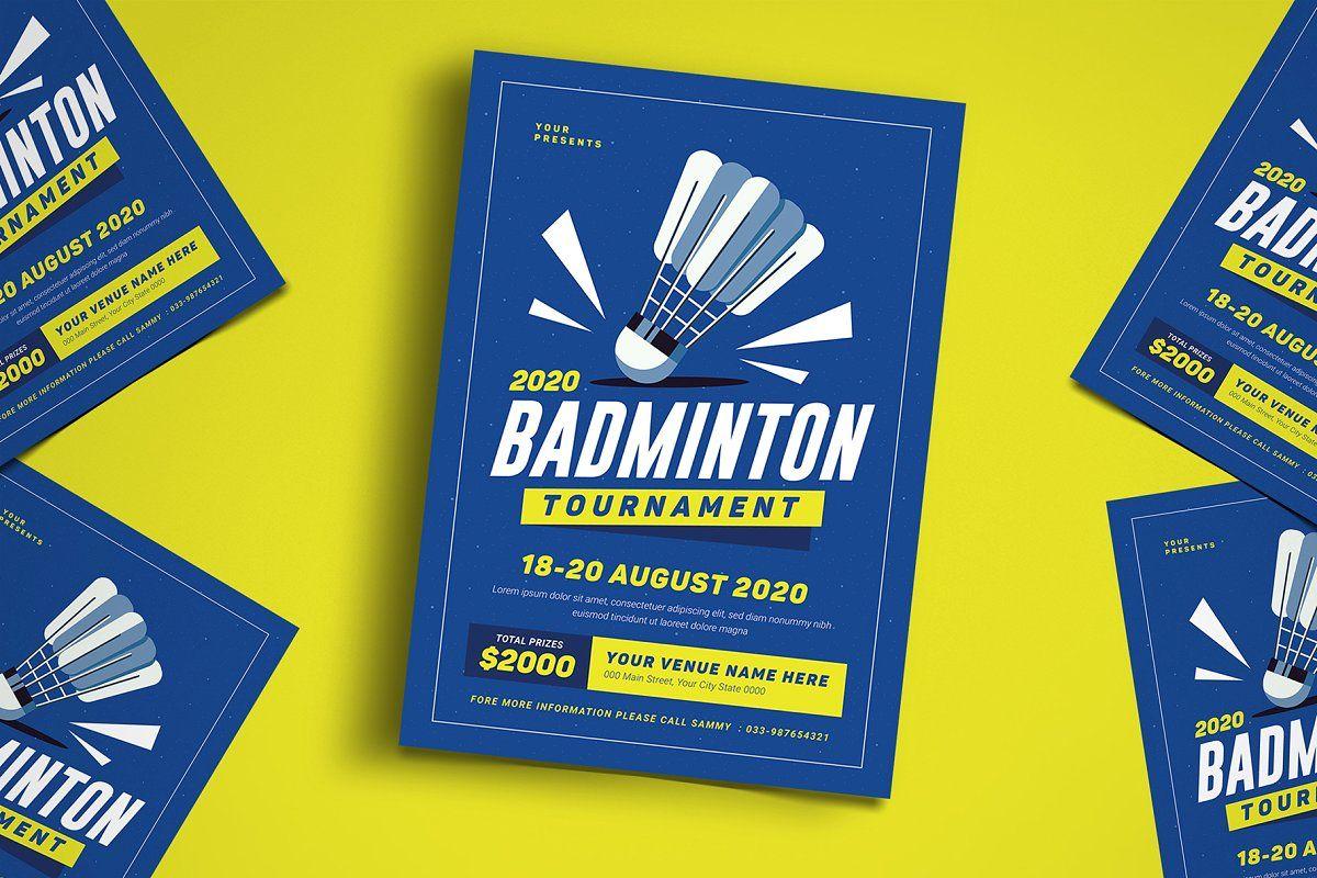 Kids Softball Tournament Flyer In 2020 Badminton Flyer Event Flyer