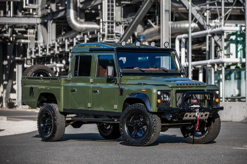 East Coast Defender Turns a Land Rover Defender 130 into a 'Huntress