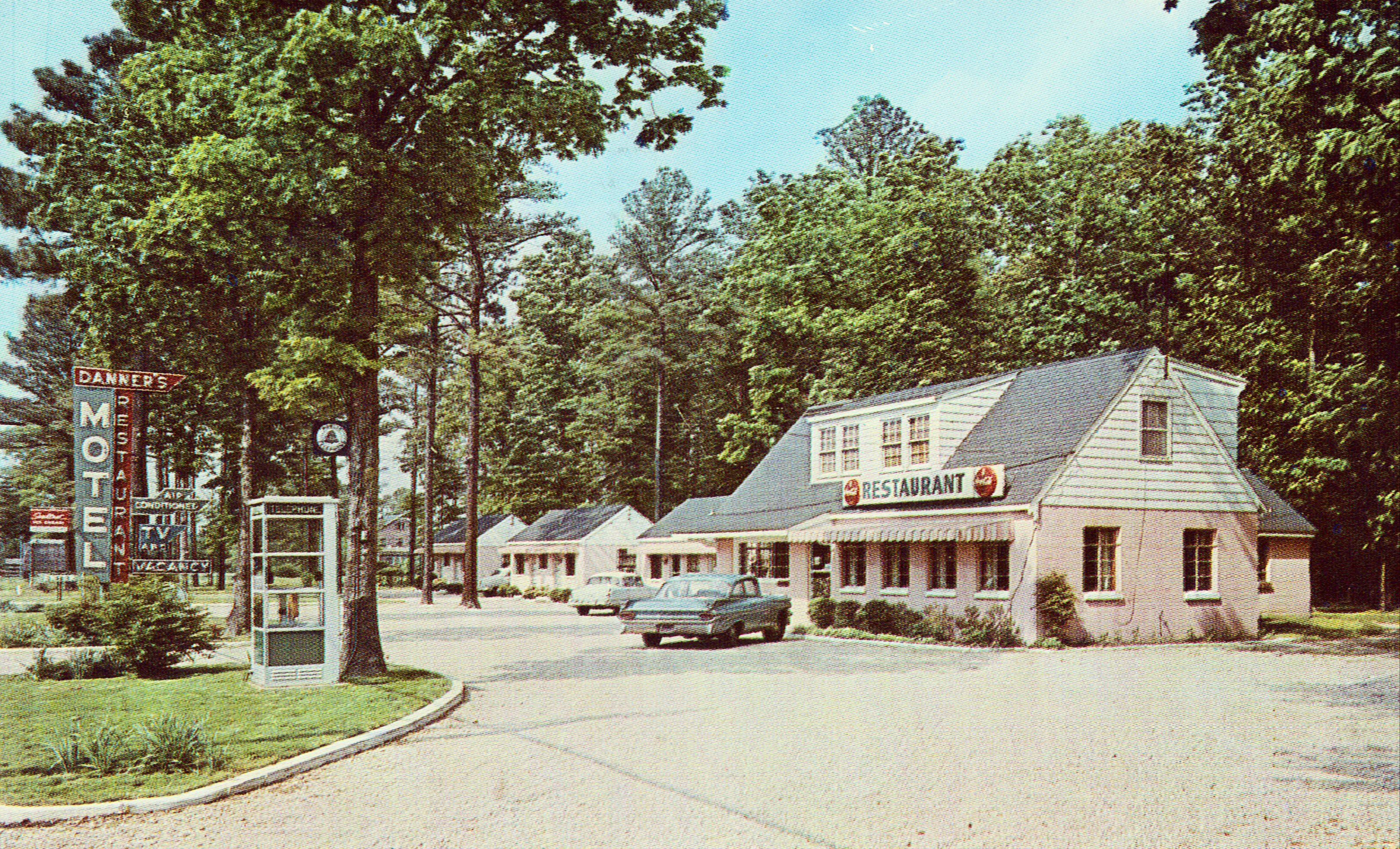 Danner's Motel and Restaurant Colonial Heights,Virginia
