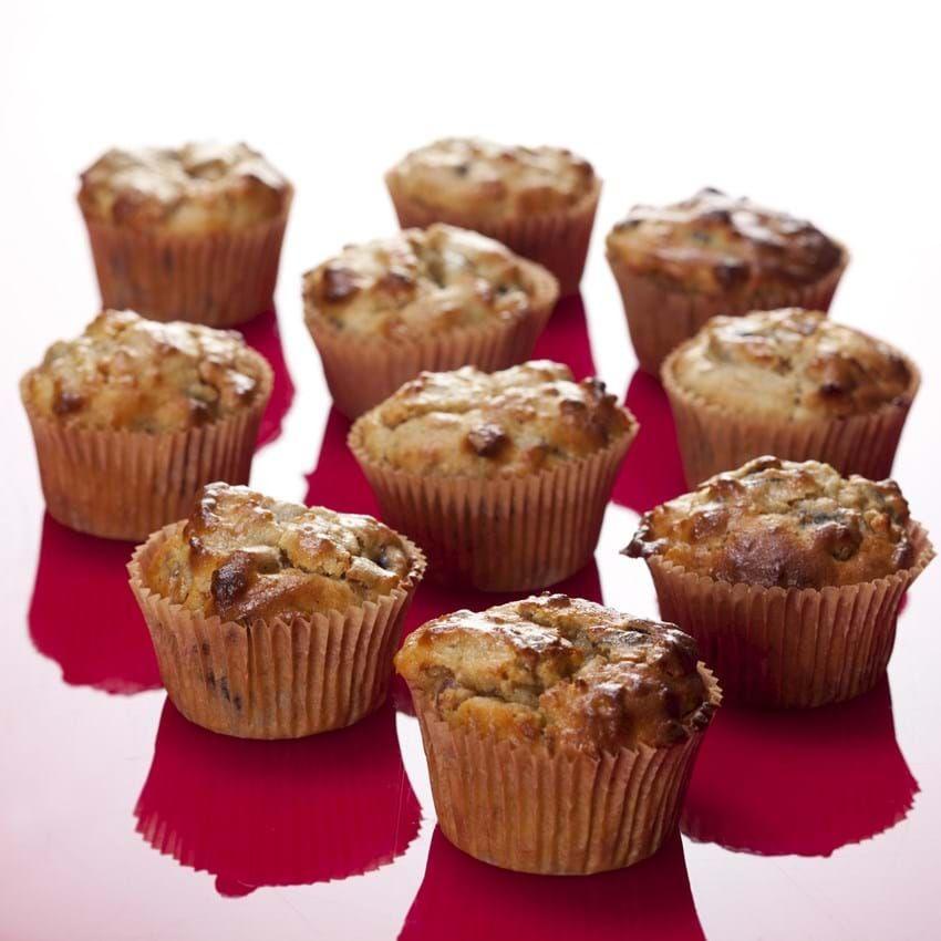 Morgenmuffins Med Svesker Og Abrikoser Opskrift Med Billeder Mellemmaltid Muffins Dessert