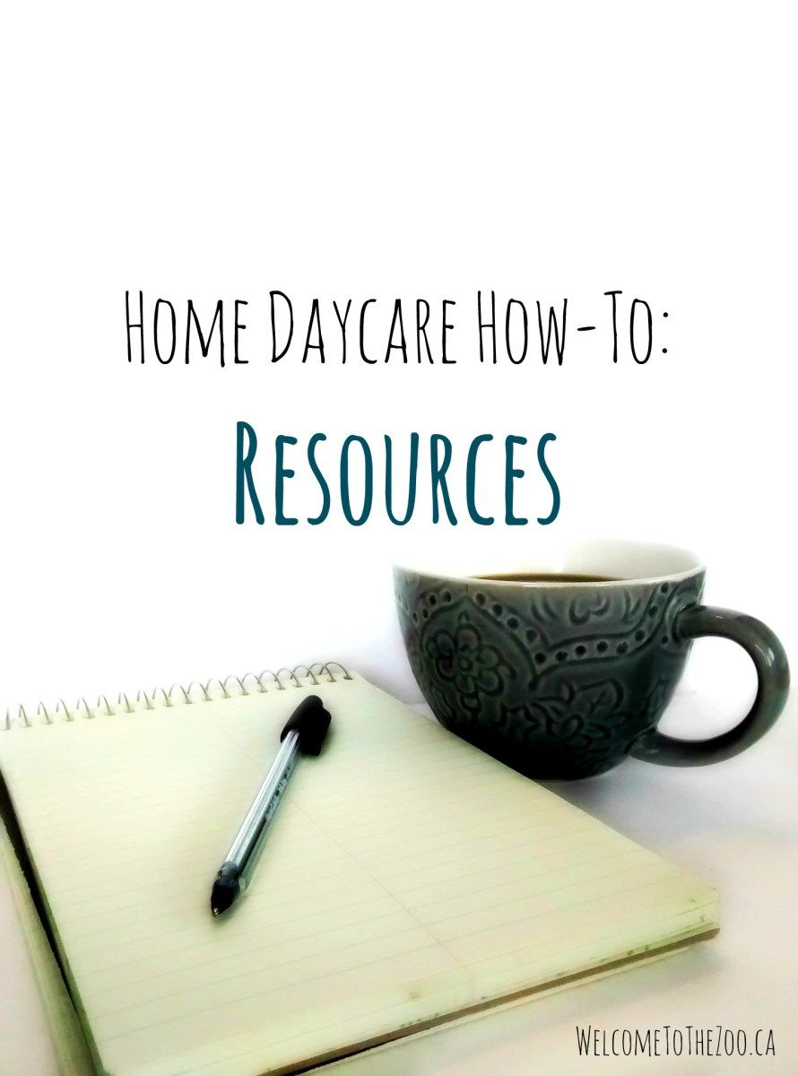 Home Daycare HowTo's Resources Home daycare, Starting