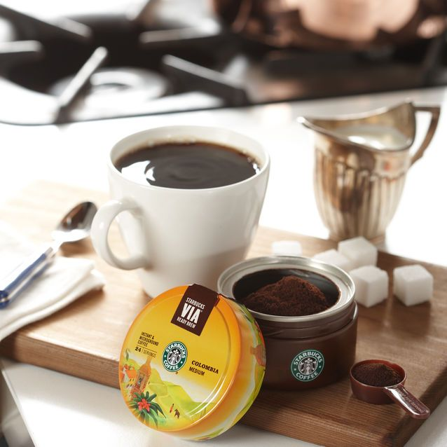 A smooth instant coffee with a signature nutty flavour. Tin with scoop included.