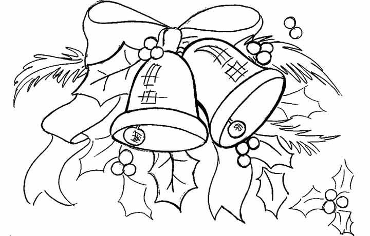 Top 10 Free Printable Cute Bell Coloring Pages Online Printable Christmas Coloring Pages Christmas Coloring Pages Free Christmas Coloring Pages